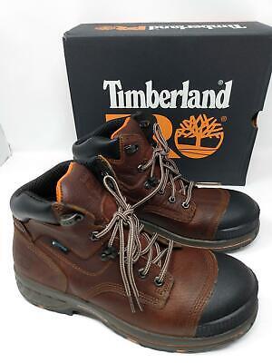 "Timberland PRO Men's 6"" Composite Toe Waterproof Construction Shoe,Leather, 7.5"