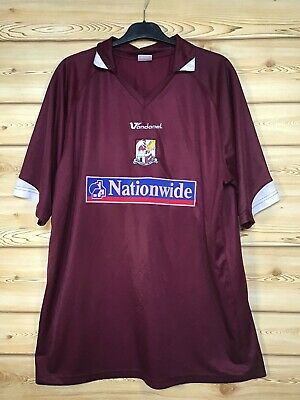 Northampton Town Football Club Home Shirt 2006/2007/Men's XL 47