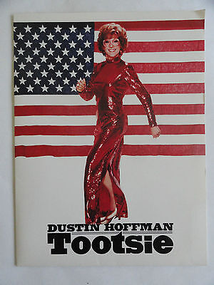 TOOTSIE RARE VHS RELEASE PRESS KIT 1983 FOLDER AD LAYOUTS LETTER TIDBITS REVIEW