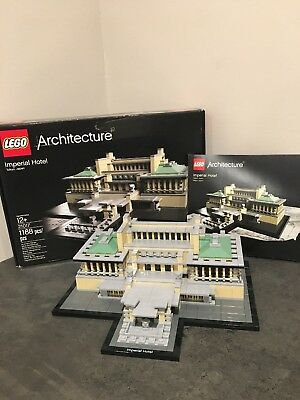 Lego Architecture Imperial Hotel (21017) Complete W/ Original Box & Instructions for sale  Minneapolis