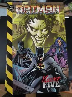 Batman No Man's Land 5 volume set