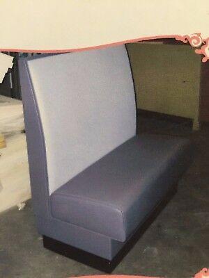 Standard Restaurant Booth 42l X 36h X 23d Commercial Grade Vinyl