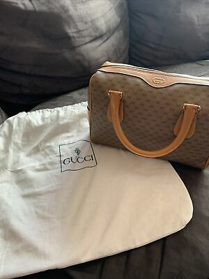 New Vintage Gucci Bag With Dustbag Over 20 Years Old.