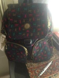 "'Kipling' brand rucksack.  ""Firefly monkey""  style with all tags. Tullamarine Hume Area Preview"