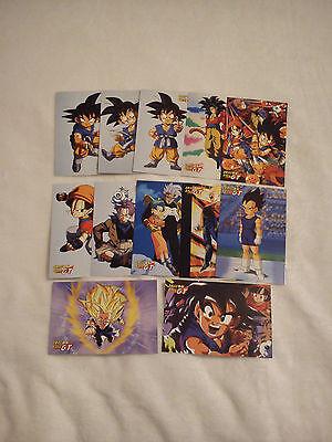 Dragonball GT Post Karten 12 Stück, Dragon Ball Postkarten