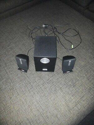 Labtec Pulse 285 2.1 PC-Lautsprecher Multimedia Speaker M/N: S-0158B