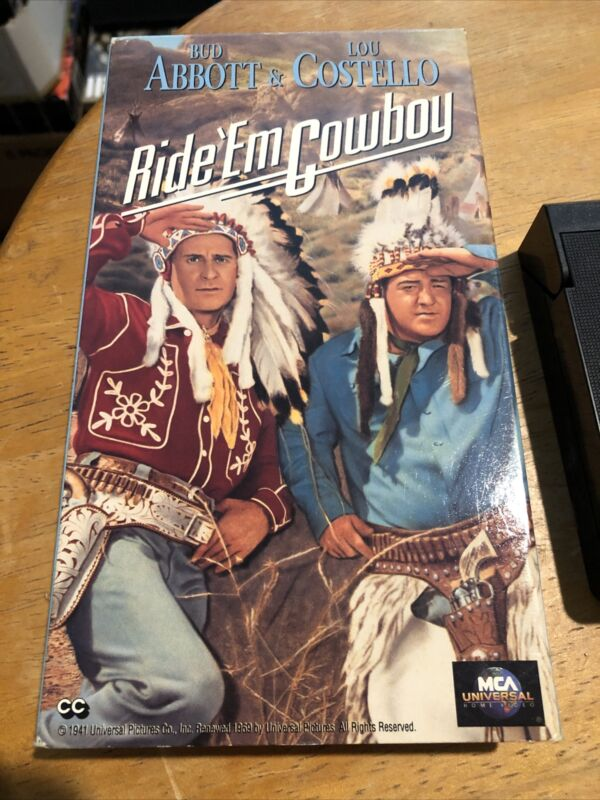 Ride Em Cowboy (VHS, 1992)