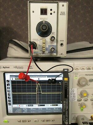 Agilent 1147a Oscilloscope Current Probe Tested For Infinium 50 Mhz 15a Ac-dc