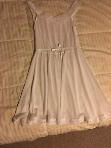 New with tags lace white nightie