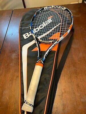 4 1//4 ** NOUVEAU ** Babolat Drive 115 Oversize Raquette de Tennis Complet Avec Housse