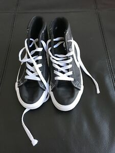 Kids size 2 running shoes - used for only 1 week