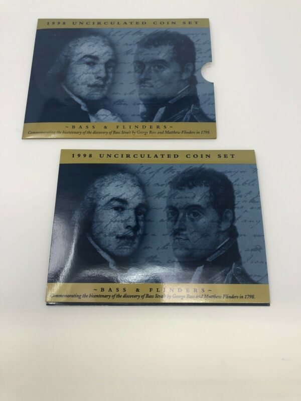 1998 Royal Australian Mint Bass & Flinders Uncirculated Coin Set