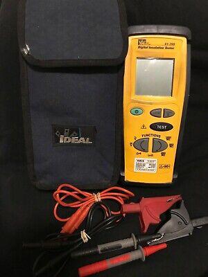 Ideal Industries 61-795 Digital Insulation Tester 2505001000v