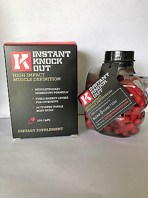 Instant Knock Out High Impact Muscle Definition    Authentic  Fresh   Ships Free