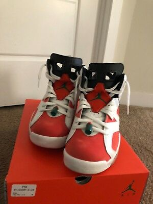 130.00. Air Jordan Retro 6 Gatorade Whitish Orange Shoes ... c614f54630be