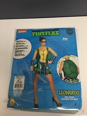 RUBIE'S TEENAGE MUTANT NINJA TURTLES LEONARDO WOMEN HALLOWEEN COSTUME MEDIUM