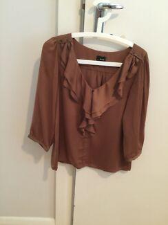 Ladies Bardot shirt / blouse (size 8) Albert Park Charles Sturt Area Preview