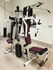spirit total home gym strength weight training body