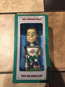 CFL Bobble Head - 2003 Grey Cup Edition For Sale