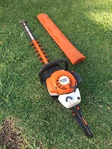 Stihl HS82T Commercial Hedge Trimmer in Excellent Condition