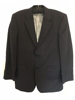 Men's Ben Sherman Grey Charcoal Camden Slim Fit Suit 40R W34 L34 RRP£250