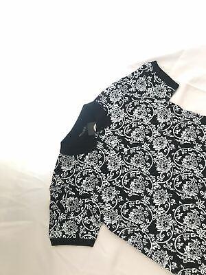 Nwt Mens Black White Versace Medusa Classic Short sleeve T Shirt