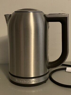 KitchenAid Electric Kettle & LED display Stainless Steel New never used