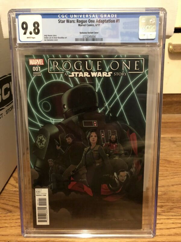 Star Wars Rogue One 1 CGC 9.8 Variant 1:10 1st Cassian Andor