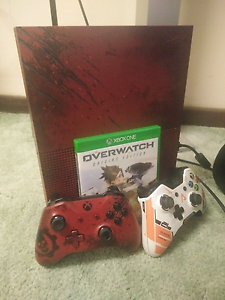 2tb Limited edition gears of war Xbox one Belmont Geelong City Preview