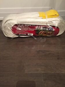 Heavy recovery tow straps brand new
