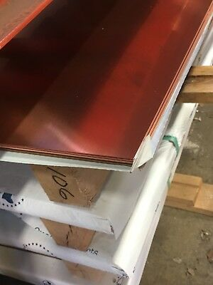 Copper Sheet 16oz- 24 Gauge 18x 120 Revere Copper