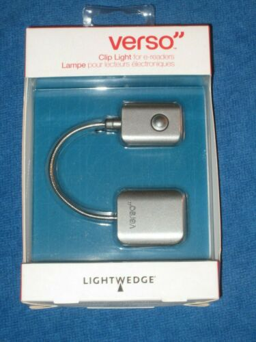 Verso VR001-001-23 Clip Light for eReaders, graphite, New!