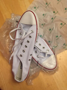 Brand new white Converse Chuck Taylors