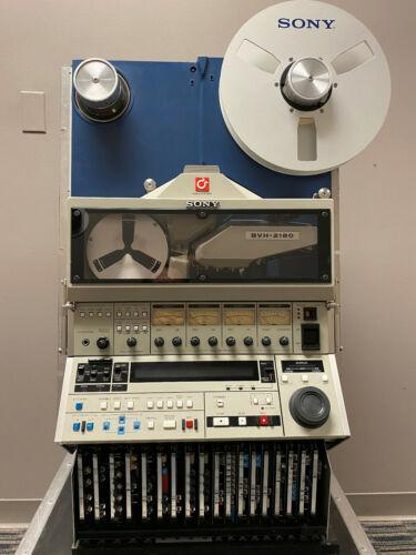 "SONY BVH 2180 1"" Video Recorder"