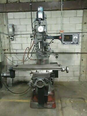 Used Alliant 2-axis Cnc Prototrak Knee Mill W3rd Axis Readout Accessoriesum