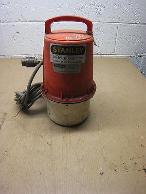 Stanley Model Ip14115 Ip14 115v Hydraulic Pump For Hand Held Hydraulic Tools