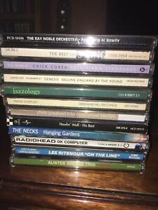 12 CDS - Rock, Jazz, Blues