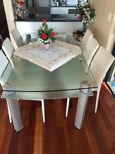 Glass dining table Eastlakes Botany Bay Area Preview