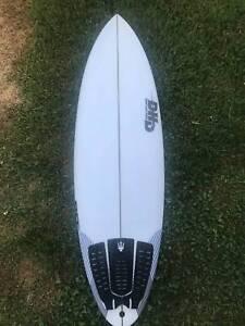 DHD Black Diamond Surfboard - 5'9 - 31L