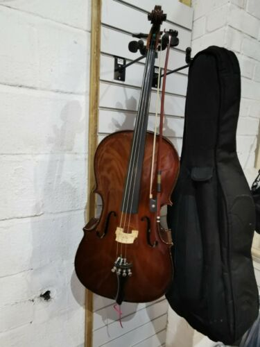 HANS JOSEPH HAUER 1/4 CELLO GERMAN MADE MODEL SCE-S 2014 WITH BOW & CARRY CASE