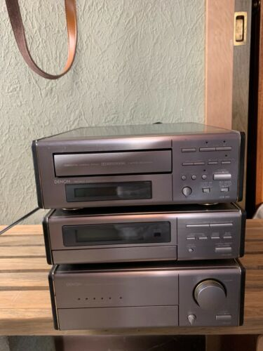 Denon D-200 Compact stereo system. Amplifier, tuner, cassette deck.VGC.