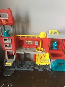 Transformers Fire Station