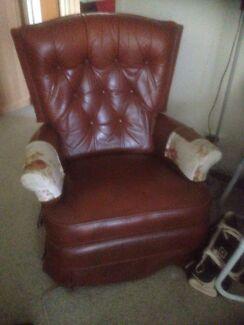 Jason leather recliner Pasadena Mitcham Area Preview