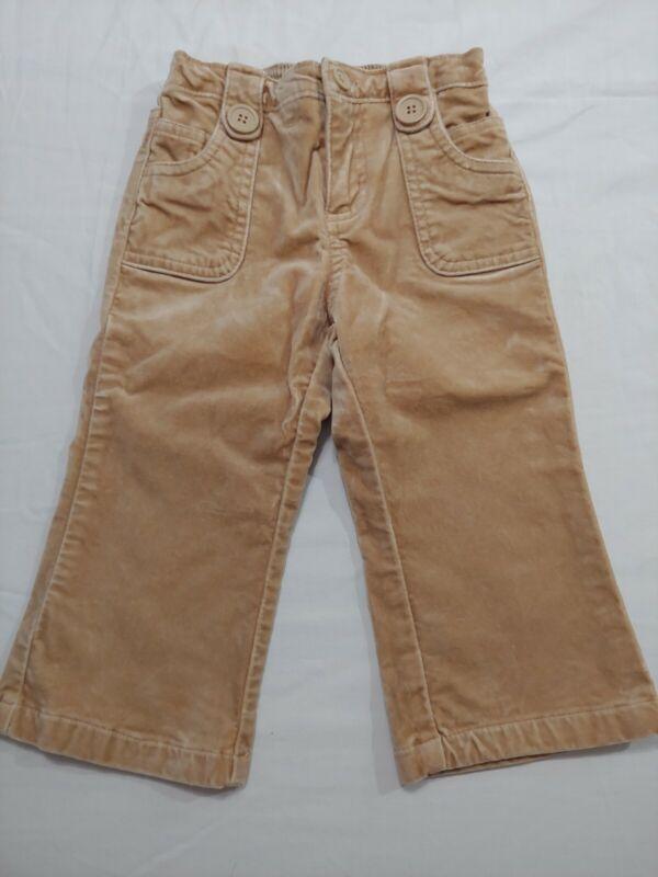 Baby Gap Toddler Boy Girl 18-24 Months Brown / Sandy Pants - FREE Shipping