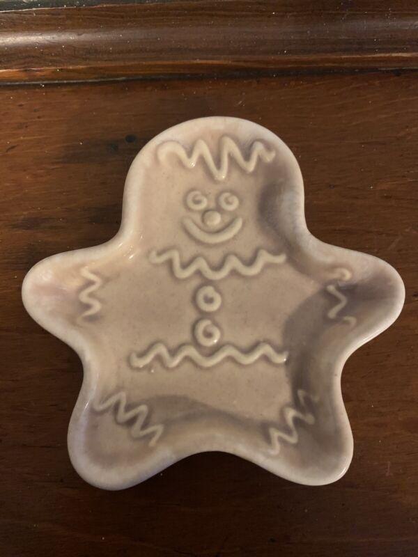 Hull Tawny Gingerbread Man Spoon Rest