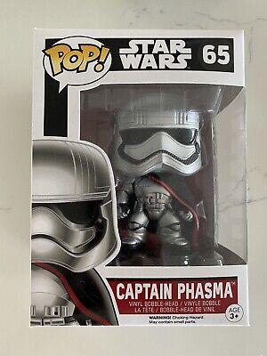 Funko Pop! Star Wars Ep 7 The Force Awakens Captain Phasma Viny Figure 65