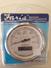 "4"" Faria GPS marine speedometer Hope Island Gold Coast North Preview"