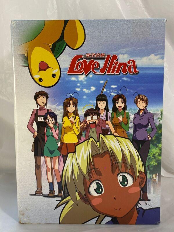 Love Hina ラブひな DVD Collector's Box Set (Used) Bandai Entertainment