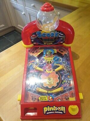 Double Bubble Pinball Gumball Machine retro