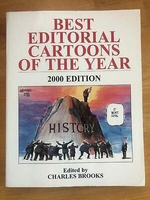 Best Editorial Cartoons of the Year 2000 Edition - Clinton, Lewinsky, Bush,